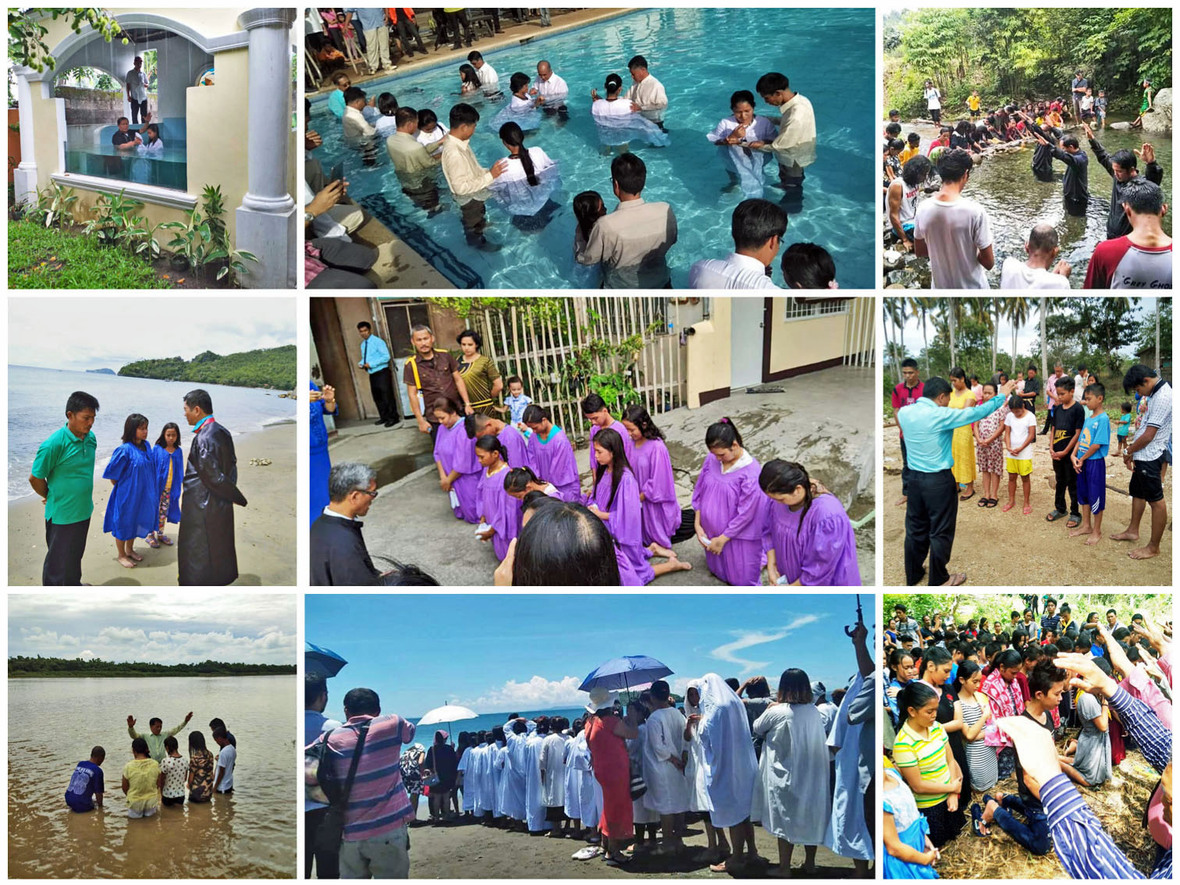 972 Baptisms were reported for June 2019 – To God be the glory!